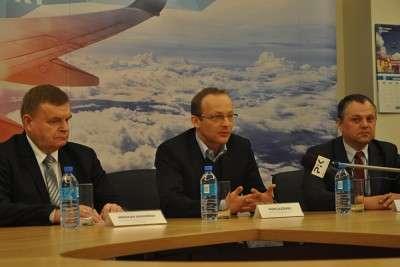 Jagodziński, Olszewski, Moraczewski, konferencja