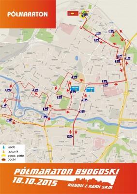 polmaraton bydgoski trasa