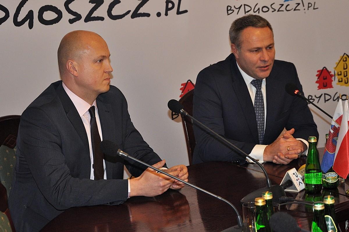 Łukasz Niedźwiedzki, Rafał Bruski