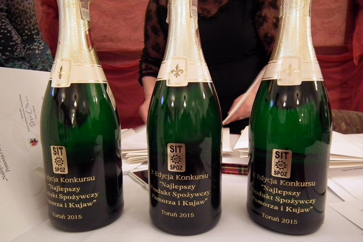 Pamiątka X Edycji Konkursu na najlepszy produkt spożywczy Pomorza i Kujaw