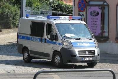 Radiowóz - policja - Śródmieście - ED