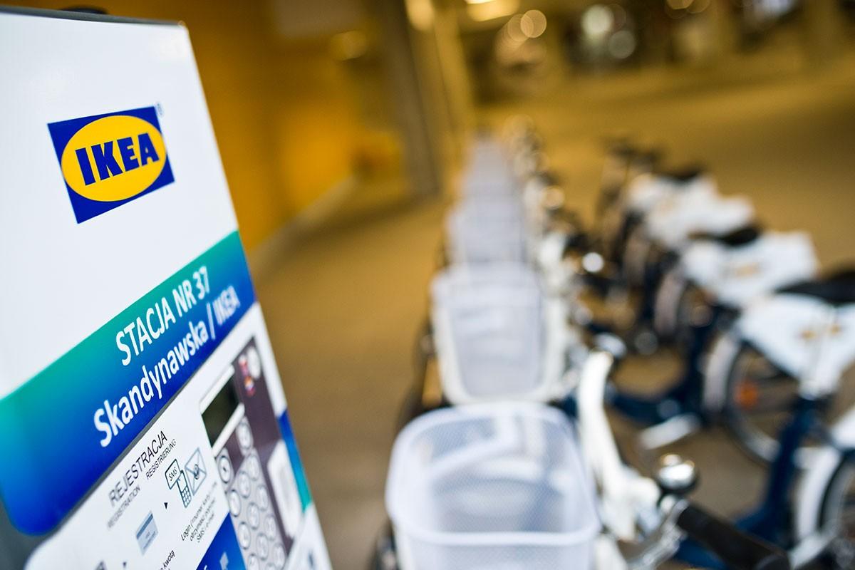 Bydgoski Rower Aglomeracyjny IKEA