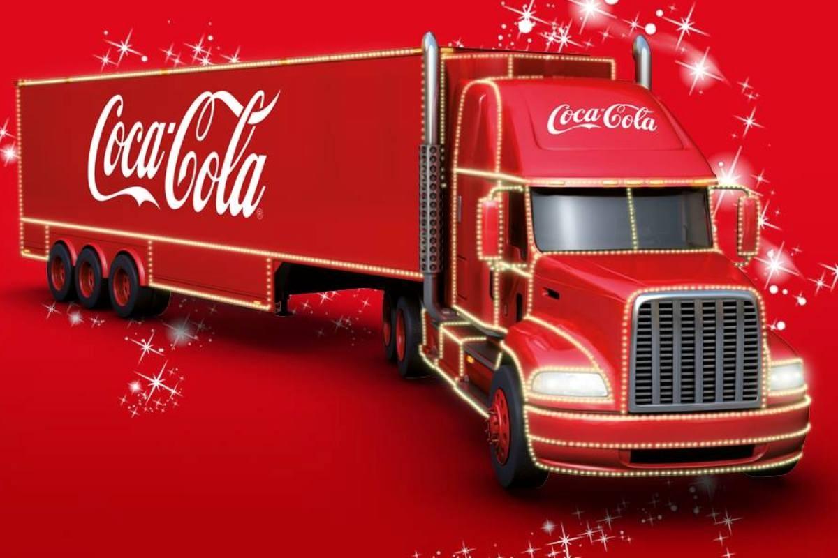 Znalezione obrazy dla zapytania swiąteczna trasa ciezarowek coca cola