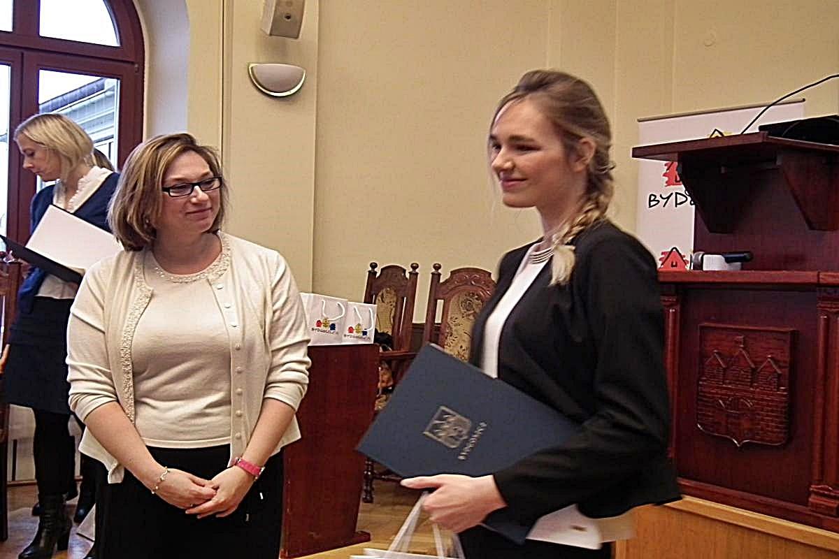 Aleksandra Orlewicz - młodzieżowy Wolontariusz Roku 2015
