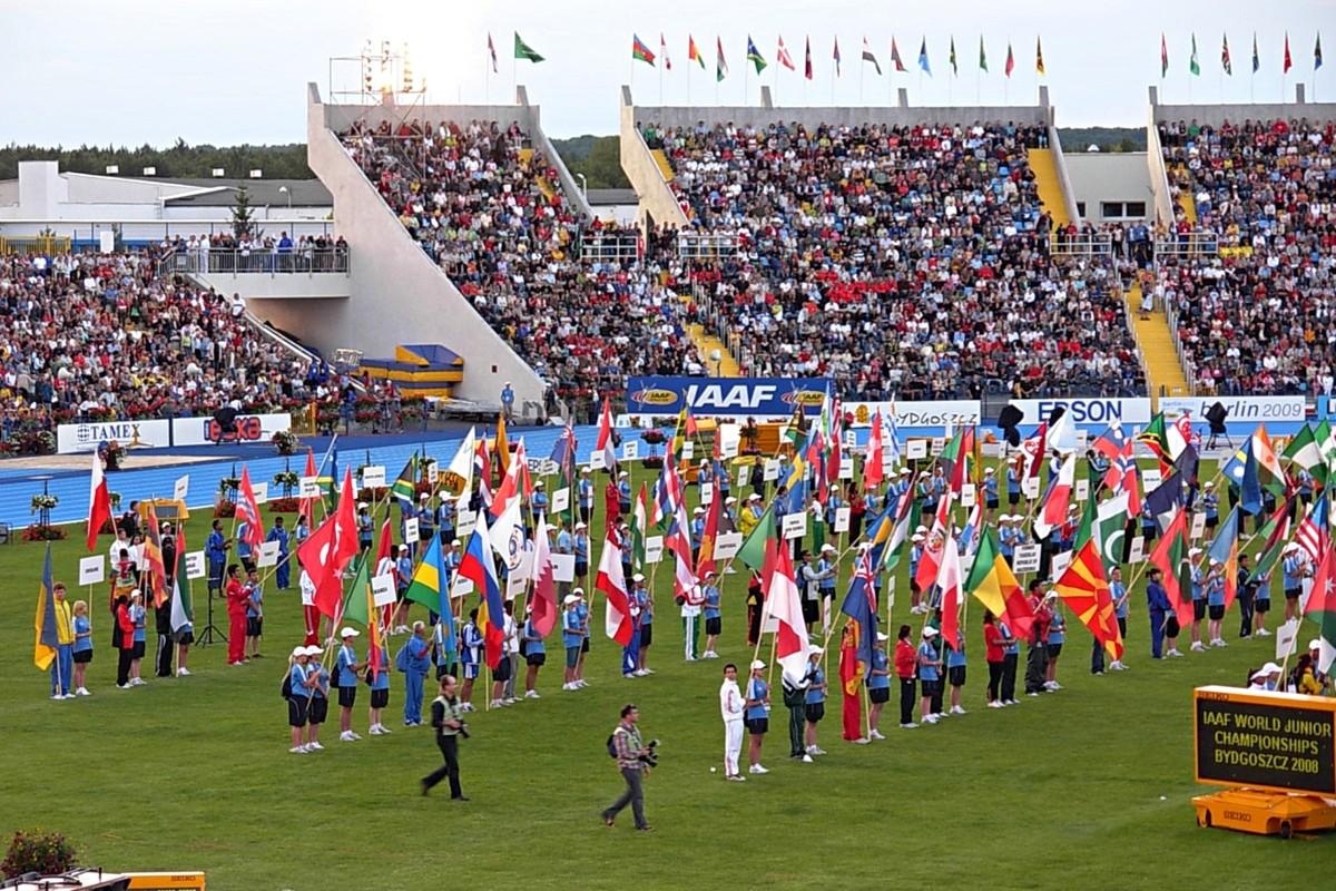 MŚJ Bydgoszcz lekka atletyka
