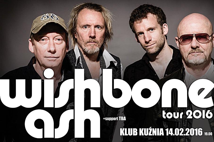 Wishbone Ash w klubie Kuznia (patroni medialni)