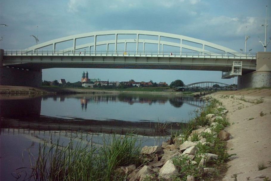 most św. Rocha Poznań