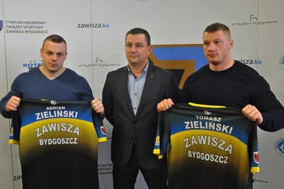 Adrian Zieliński, Waldemar Gospodarek, Tomasz Zieliński
