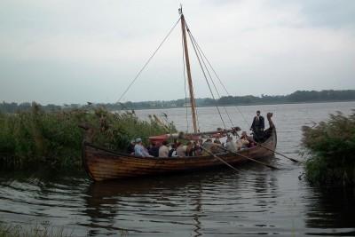 Biskupin, jezioro