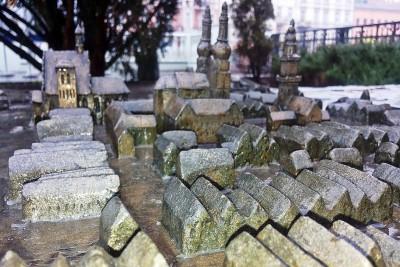 Makieta dawnej Bydgoszczy