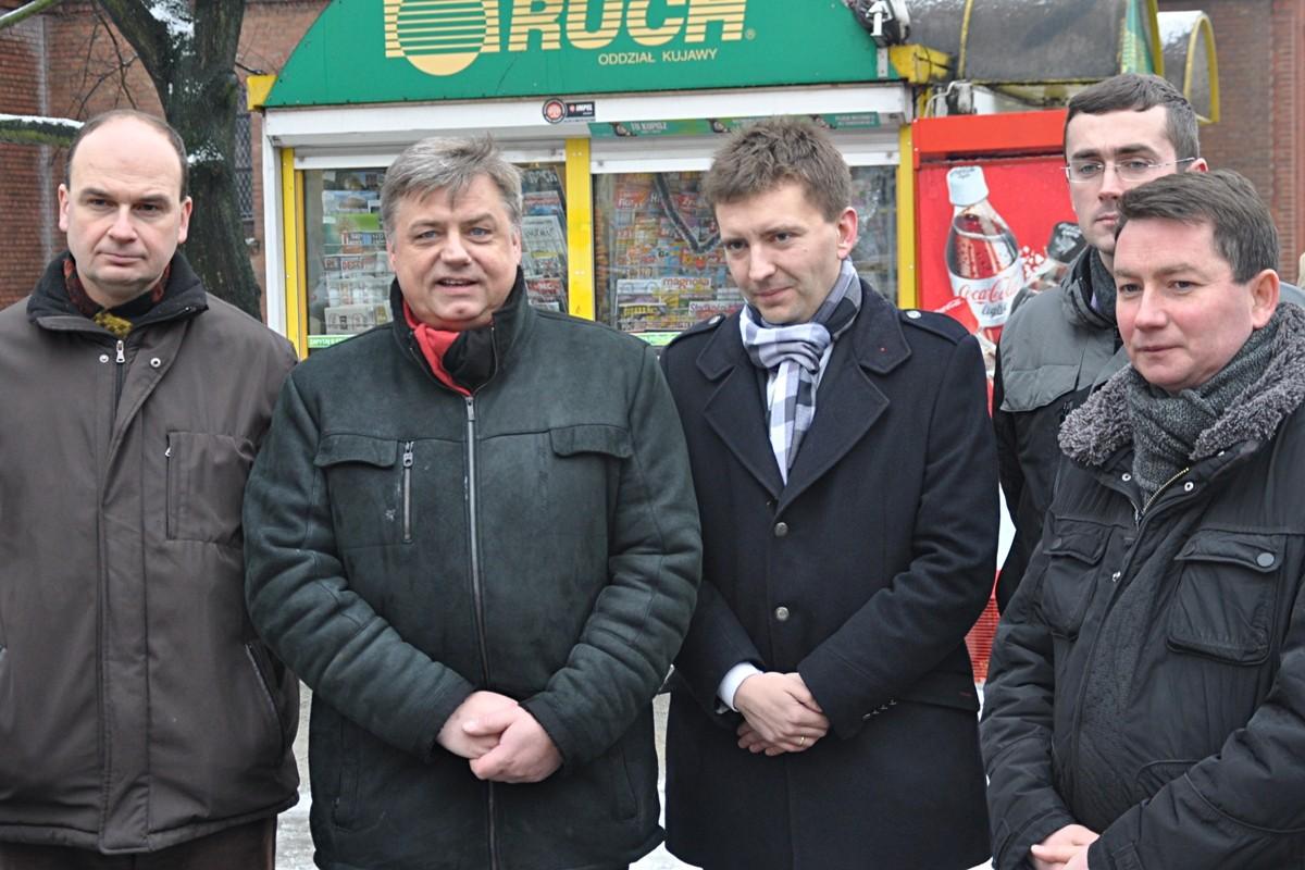 Michał Krzemkowski, Kosma Złotowski, Łukasz Schreiber, Szymon Róg, Tomasz Rega - ST