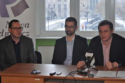 Paweł Skutecki, Piotr Najzer, Marcin Sypniewski
