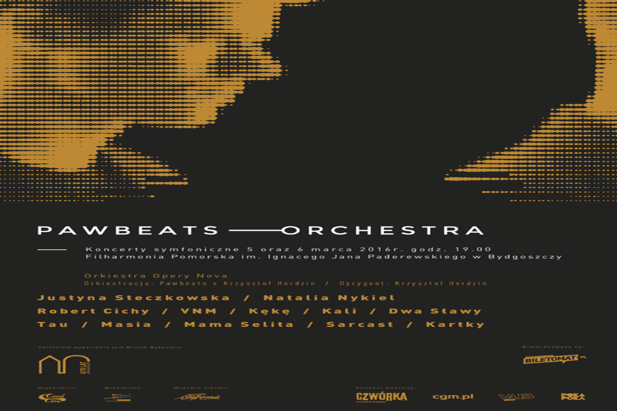 Plakat Koncerty Pawbeats Orchestra_1200x800