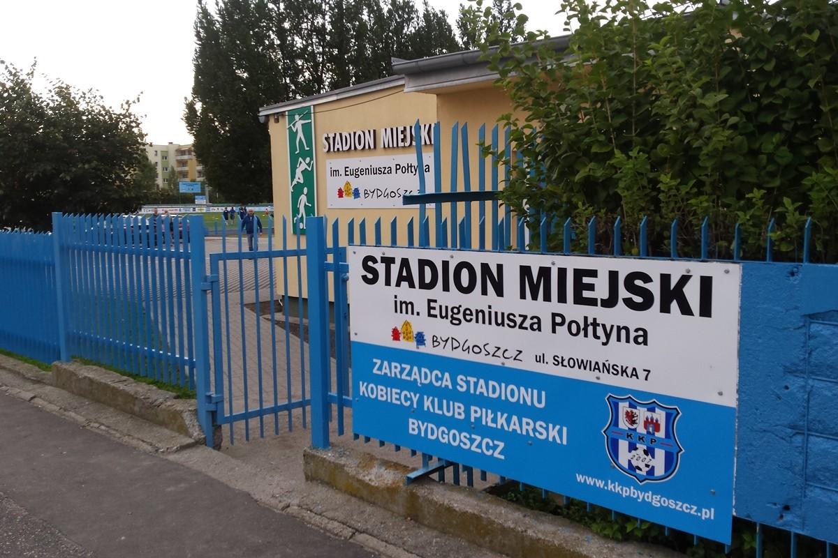 Stadion miejski im. Eugeniusza Połtyna, KKP Bydgoszcz, ul. Słowiańska, Wzgórze Wolności - ED - rozmiar