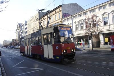 tramwaj ulica Gdańska