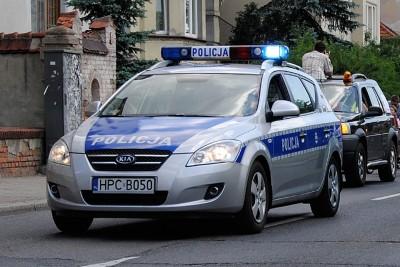 samochod policja radiowoz - LG