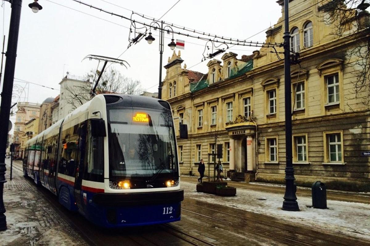 tramwaj Swing Gdańska