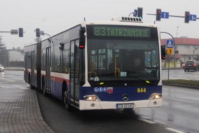linia nr 83 Bydgoszcz