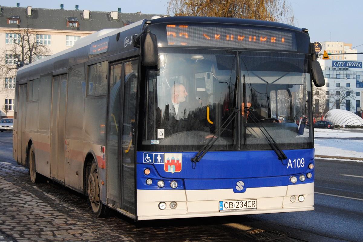 Autobus - linia 55, Skorupki, Rondo Jagiellonów - LG