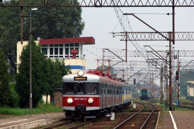 Stacja_Laskowice_Pom._EN57-1557_Os._Gdansk_Gl._-_Bydgoszcz_Gl