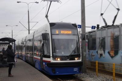 Tramwaj PESA - linia 5, Rycerska, Fordońska-Fabryczna - LG
