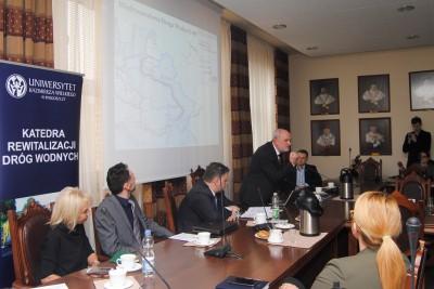 Zygmunt Babiński, konferencja UKW ws. rewitalizacji rzek - LG (1)