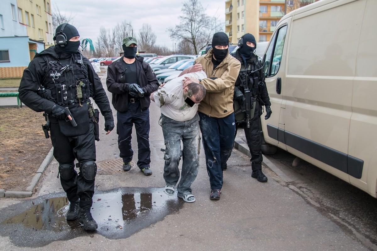 policja zatrzymanie zabójstwo