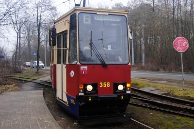 linia tramwajowa Łęgnowo