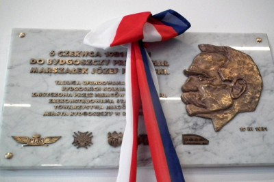 tablica J. Piłsudskiego