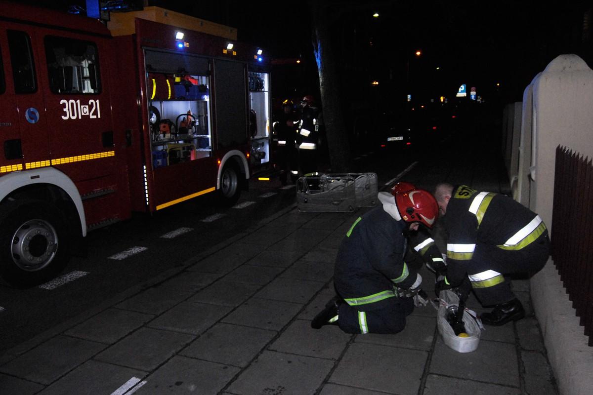 Pożar lokalu przy Paderewskiego 16 - LG (2)