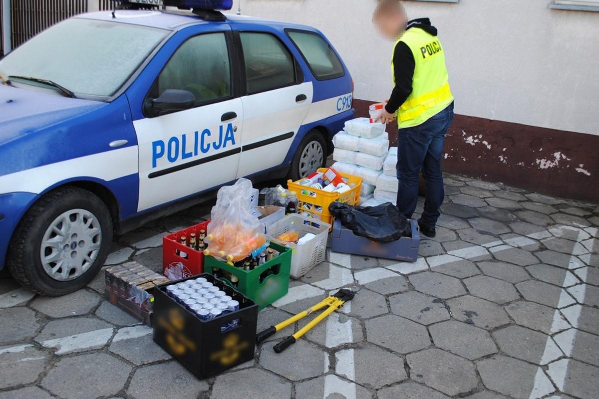 policja skradziony towar