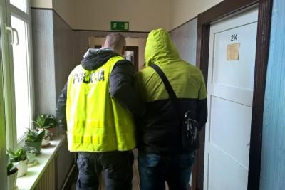 policja swiecie zatrzymanie