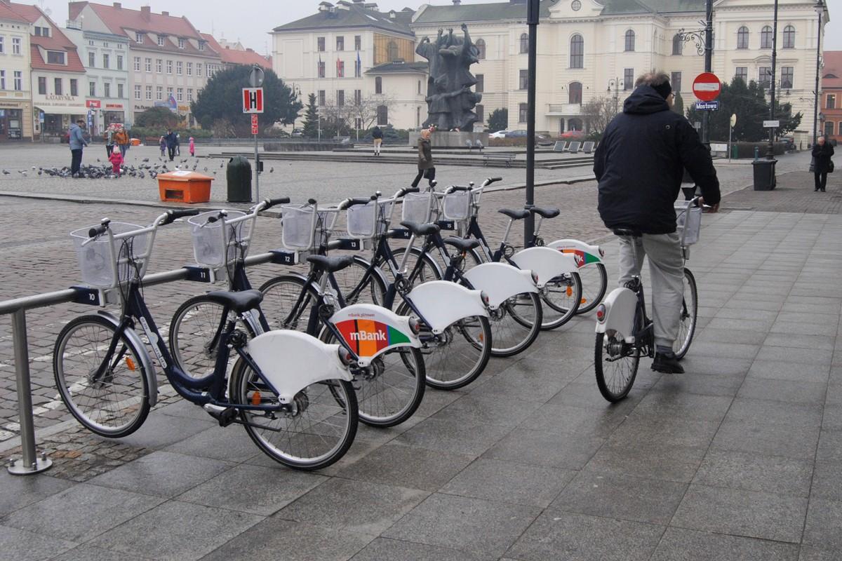 Bydgoski Rower Aglomeracyjny - stacja, Stary Rynek - LG (4)