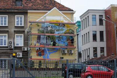 Malowany mural, ulica Krótka - LG (5)