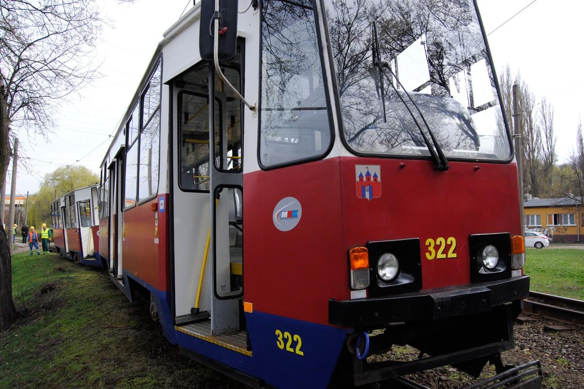 Wykolejony tramwaj, Babia Wieś - LG (1)