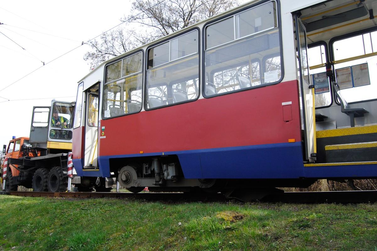 Wykolejony tramwaj, Babia Wieś - LG (13)