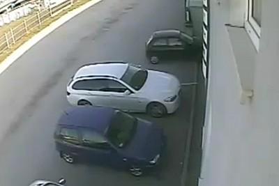 corsa wypadek