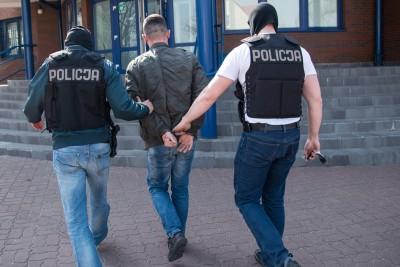 policja, wnuczek, zatrzymanie