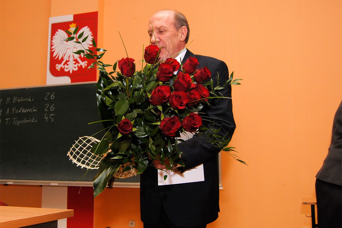 Tomasz Topoliński rektor UTP