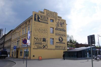 Retrościana, ulica Dworcowa - LG (1)