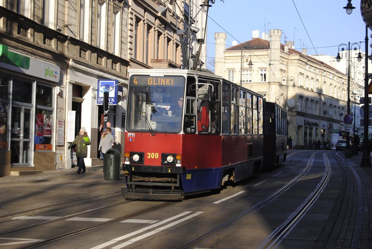 Tramwaj - linia 4, Glinki, ulica Gdańska - LG