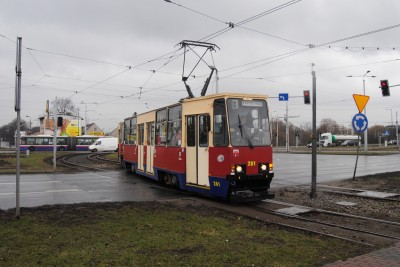 Tramwaj - linia 7, Kapuściska, Rondo Toruńskie - LG (2)