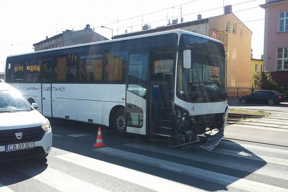 autobus Bydgoszcz wypadek