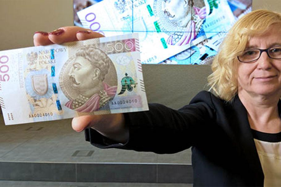 banknot 500 złotych NBP
