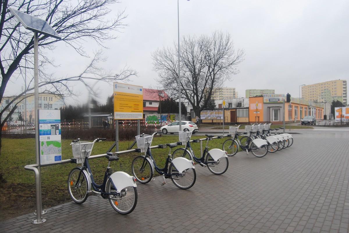Bydgoski Rower Aglomeracyjny - stacja, Wojska Polskiego-Trasa Uniwersytecka - LG (2)