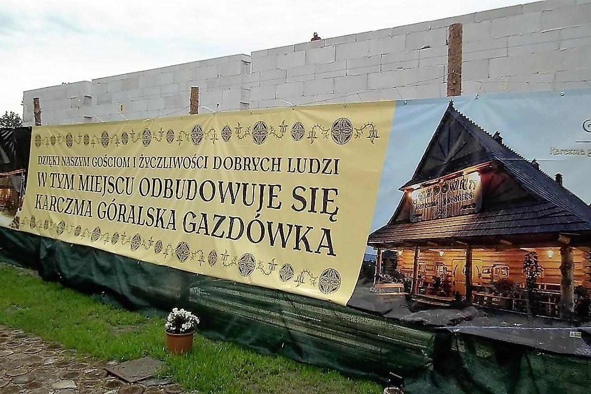 Budowa nowej Gazdówki