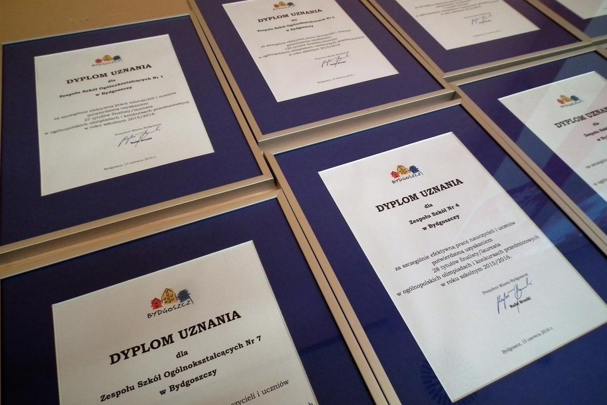 Gala laureatów olimpiad przedmiotowych