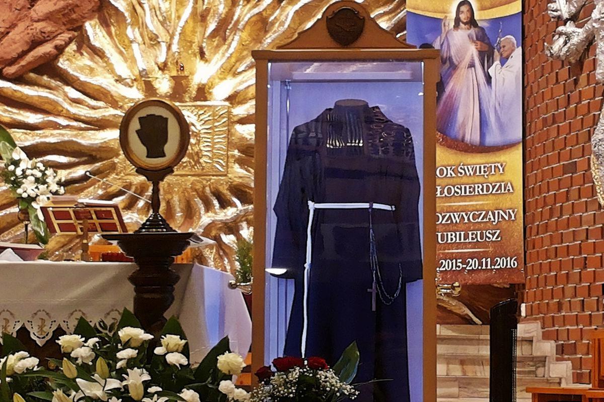 Relikwie św. o. Pio