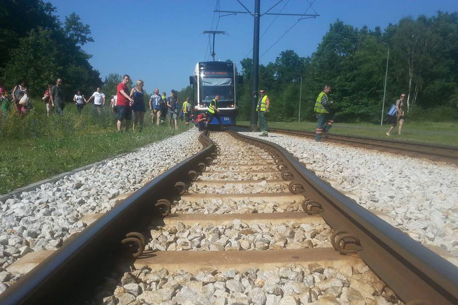 tramwaj Fordon Bydgoszcz