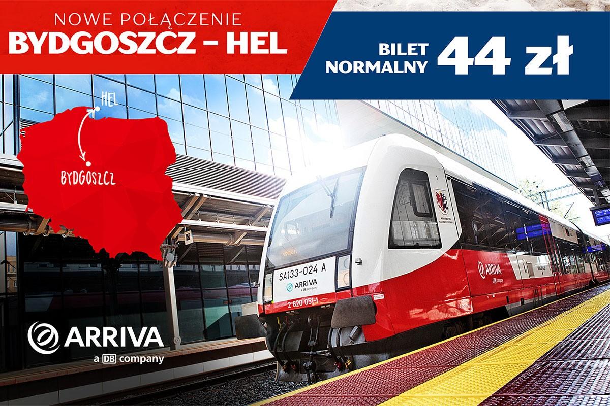 Bydgoszcz Hel Arriva